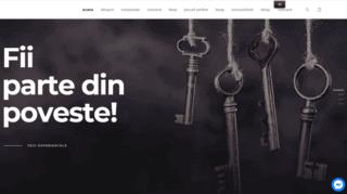 Exemplu de web design si imbunatatiri pentru un site de Escape Room, thedungeon.ro